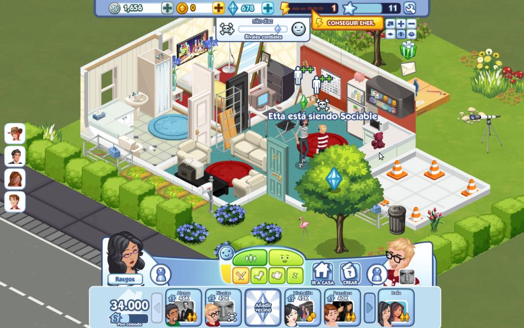 The Sims Social Jugando A Crear Una Vida Virtual Serdigital